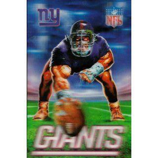 New York Giants Mascot X 3D Xtreme NFL Power Card