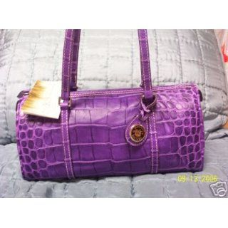 Dooney and Bourke Barrel Handbag,Nile Collection Purple