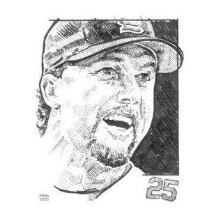 Mark McGwire St. Louis Cardinals Print