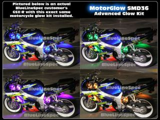 Honda Motorcycle LED Glow Light Kit Multi Color Neon SMD Lighting