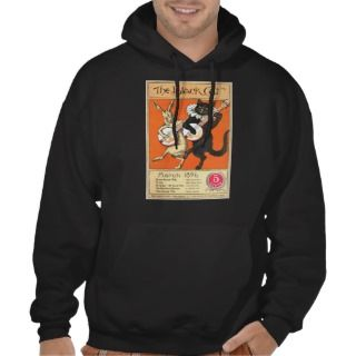 Black Cat No. 2 dark Hoodie