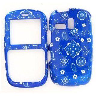 Samsung R355c Blue Bandana Design Hard Case Cover Skin