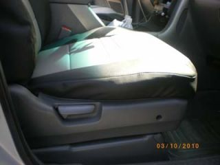 Honda Pilot 2003 2012 s Leather Custom Fit Seat Cover