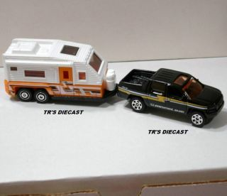 2012 Matchbox Honda Ridgeline with Travel Trailer