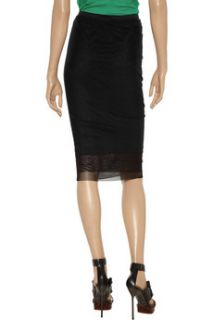 Elizabeth and James Ryan double layer stretch mesh skirt