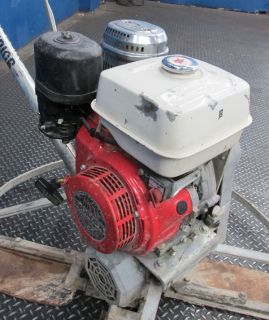 42 Gas Powered Walk Behind Power Trowel w Honda 11 HP Engine