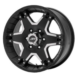 American Racing Tactic AR392 Matte Black Wheel with Machined Face