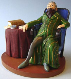 Honore Daumier Notary Art Statue Figurine Sculpture Law