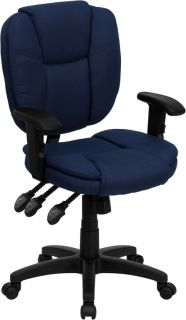 Function Swivel Tilt Home Office Desk Chairs with Adjust Arms