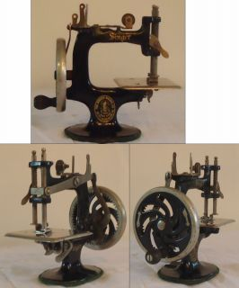 Vintage Antique Childs Singer Sewing Machine