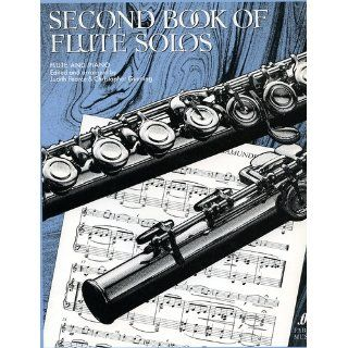 Second Book of Flute Solos   Judith Pearce / Christopher Gunning Faber