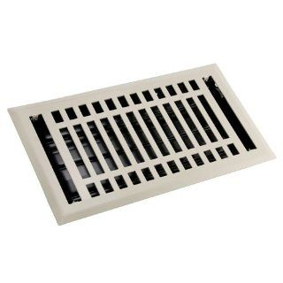 12 classic steel floor register vent cover two colors brown for 12 x 14 floor register