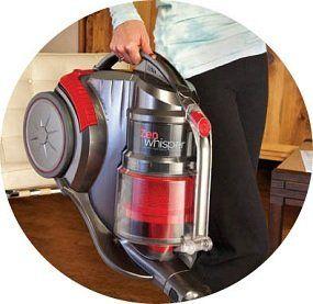 Hoover Zen Whisper Multi Cyclonic Canister Vacuum SH40080