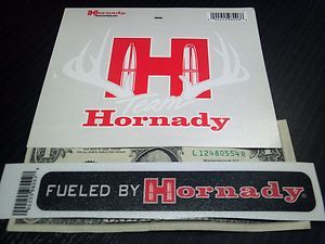 Hornady Stickers Decals Vinyl BRAND NEW Ammunition Ammo Tactical Z Max