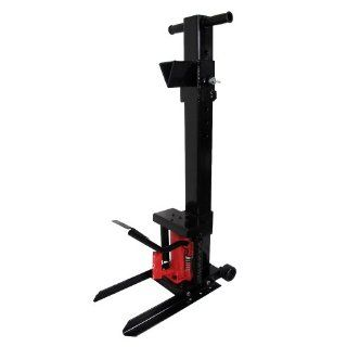 Heritage 8 Ton Hydraulic Foot Pump Log Splitter Patio