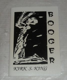 1996 Booger by Kirk s King UK Horror SC Book