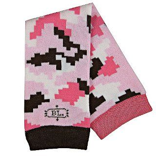 Baby Legs Girls Pink Brown Camo Leg Warmers One Size: Baby