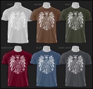 Dracula Horror Movie Vampire Dragon Crest T Shirt s XXL