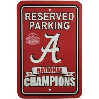 Alabama Crimson Tide 2009 BCS National Champions Crimson