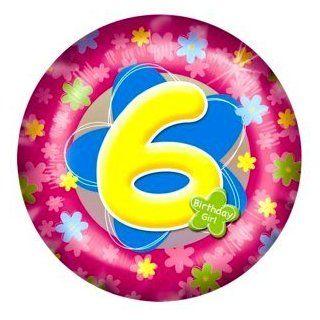Partyexplosion Sixth Birthday Girl Foil Balloon Toys