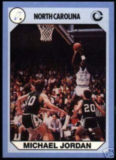 1990 North Carolina Tar Heels Set Jordan Smith Horton