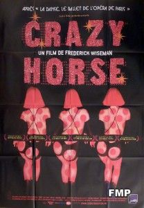CRAZY HORSE   SEXY WOMEN   ORIGINAL LARGE FRENCH MOVIE POSTER   PARIS