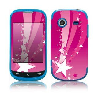 Pink Stars Decorative Skin Cover Decal Sticker for Samsung