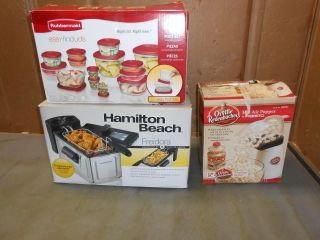 Hamilton Beach Deep Fryer Hot Air Popper More