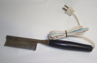 Electric Hair Straightening Hot Comb