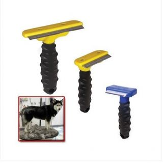 2012 New Hot Professional Dog Cat Hair Shedding Tools Comb Brush Stop