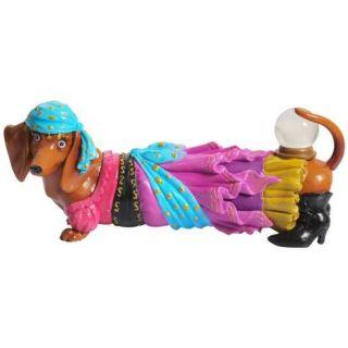 Fortune Teller Hot Diggity Dachshund Dog Figurine Westland Giftware