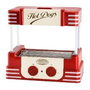 Nostalgia RHD 800 Retro Hot Dog Roller Cooker Concessions Party