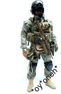 TITLE 16 CUSTOM US ARMY ODA SPECIAL FORCE GREEN BERET FIGURE
