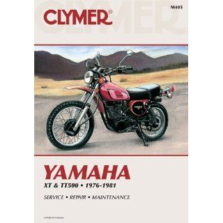 1981 Yamaha XT & TT Singles CLYMER MANUAL YAM XT & TT SINGLES 76 81
