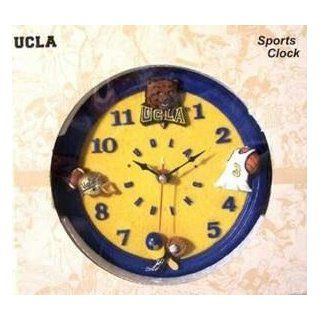 UCLA Bruins 3 D Sports Team Wall Clock: Kitchen & Dining