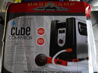 Mr Heater Basecamp Aquacube Digital Shower Blk Silver