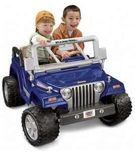Fisher Price Power Wheels Jeep Wrangler Ride On