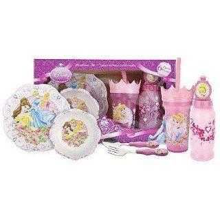 Disney Princess 6 Piece Melamine Dinnerware Set Baby