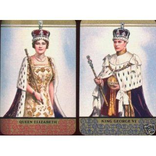 Queen Elizabeth King George Single Playing Cards