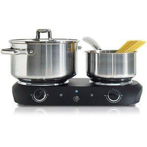 Dual Burner Hot Plate Portable General Electric