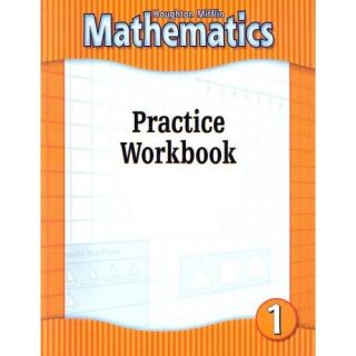 Houghton Mifflin Math 1st Grade 1 Practice Workbook Homeschool