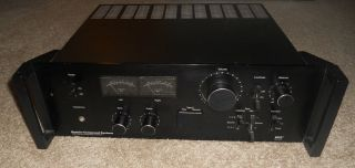 COMPONENT SYSTEMS 3835 VINTAGE STEREO INTEGRATED AMPLIFIER MCS Series