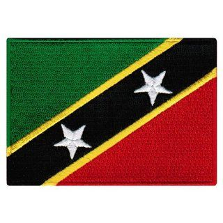 St. Kitts and Nevis Islands Flag Embroidered Patch Iron On
