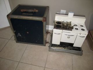 SALESMAN SAMPLE Display Gas Wood Stove Home Comfort Cast Iron Range Co