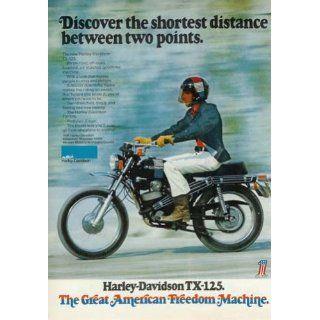 1972 Harley Davidson TX 125 Advertisement (Color