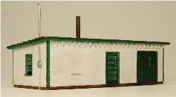 Scale GC Laser Cut Tool House Shed Building Kit