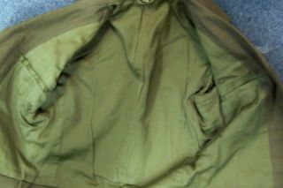 Vintage WWII or Korea Army Uniform Jacket Eisenhower Coat Size 36R and