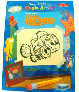 How to Draw Finding Nemo Kids Drawing Book Learn Disney