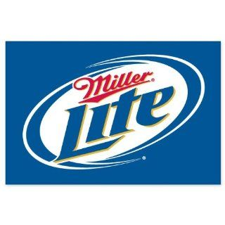 Miller Lite Beer logo vinyl sign sticker decal 5 x 3
