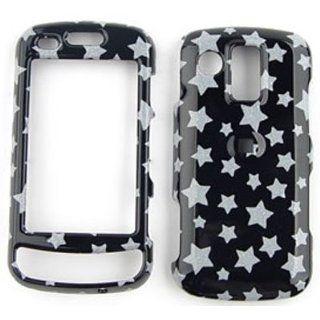 Samsung Rogue u960 Glitter Stars on Black Hard Case/Cover